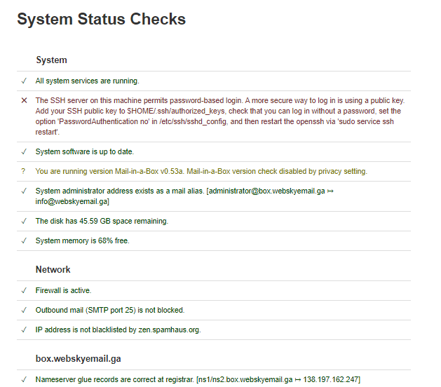 Mail-in-a-Box-system-status